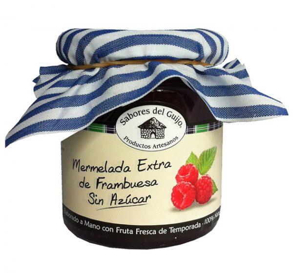 Mermelada-de-frambuesa-sin-azucar